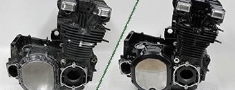 エンジン塗装の施工技術をご紹介しております。