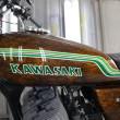 カワサキKH400外装塗装:カスタムペイント