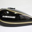 カワサキZ2外装塗装:カスタムペイント