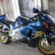 スズキGSX1300R外装塗装:カスタムペイント