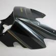 カワサキZRX1200フロントカウル塗装:修正調色塗装