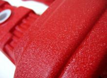 ホンダCBX400Fエンジンカバー塗装:縮み塗装(ちぢみ塗装)