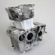 スズキGS400エンジンガラスビーズ光沢処理