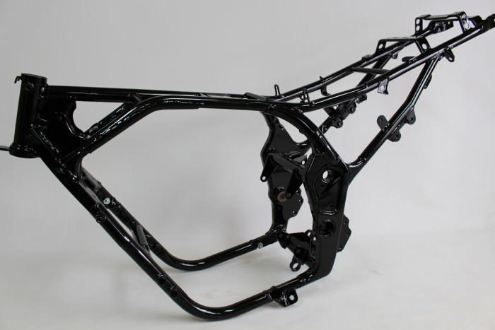 バイクフレーム塗装:ダイヤモンドコーティング