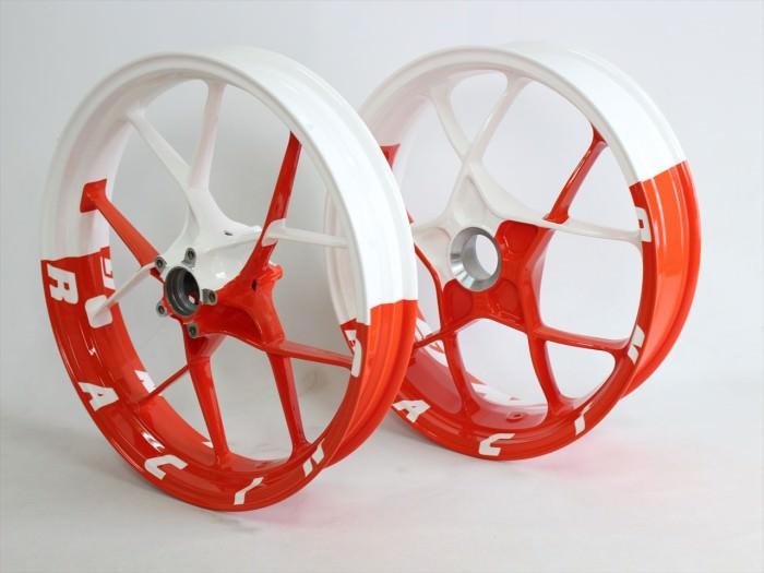 KTMホイール塗装:ダイヤモンドコーティング