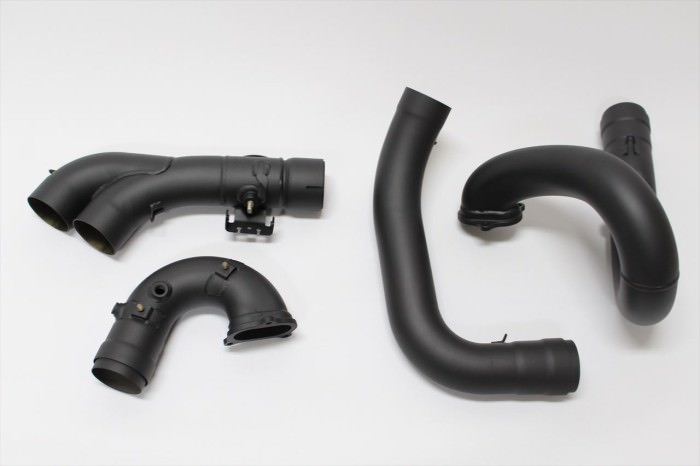 DUCATIマフラー塗装:マフラー専用耐熱塗装ST9000