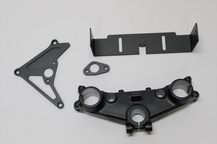 ホンダCB750Fステム等塗装:パウダーコート