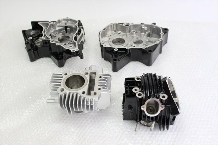 カワサキKSR110エンジン塗装:耐熱塗装ST9000