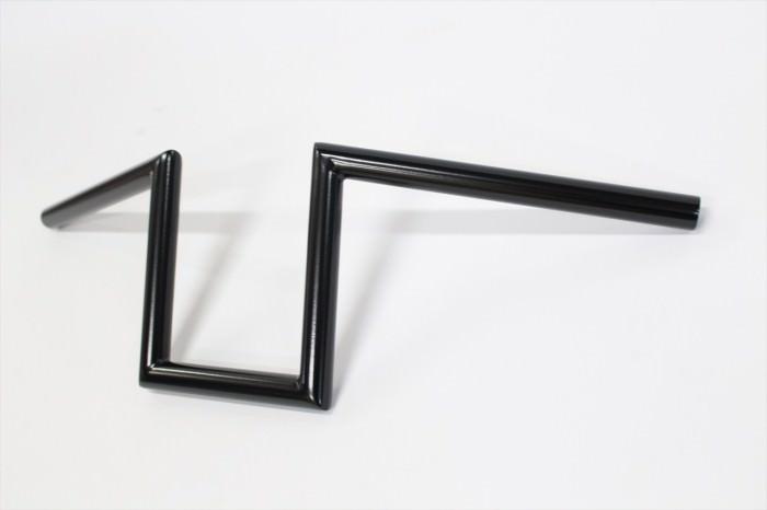 ハーレーダビッドソンハンドル塗装:パウダーコート(半艶ブラック)