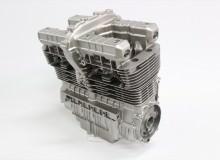 カワサキゼファー1100エンジン塗装:エンジン専用耐熱塗装ST9000