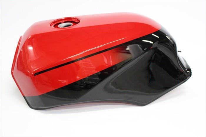 カワサキGPZ900Rタンク塗装:純正再現塗装