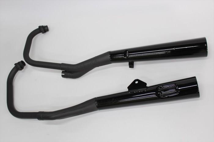 スズキGSX1100S刀マフラー塗装:マフラー専用耐熱塗装ST9000