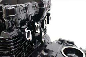 Z400FXエンジン塗装