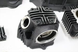 モンキーエンジン塗装