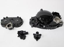 ヤマハR1-Zエンジンパーツ塗装:ダイヤモンドコーティング