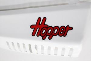 MT50ホッパー外装塗装