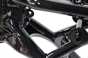 RZ350フレーム塗装