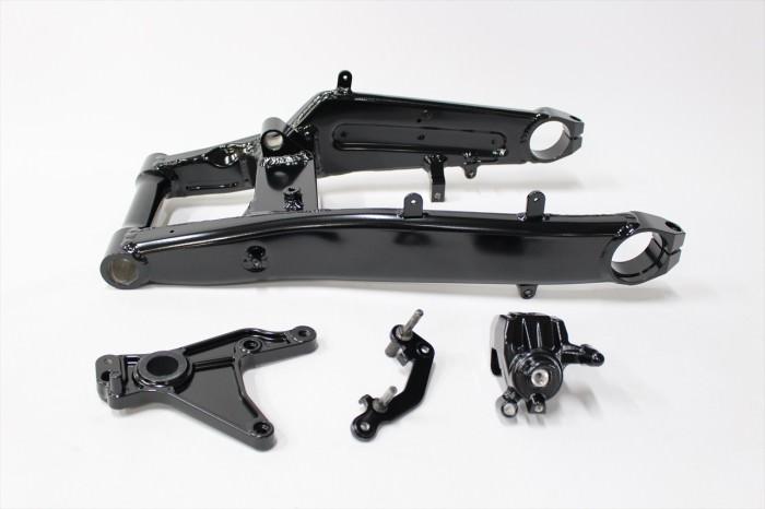 ホンダCBR650Fスイングアーム塗装:パウダーコート