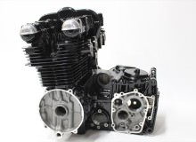カワサキゼファー750エンジン塗装:エンジン専用耐熱塗装ST9000