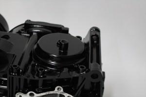 ゼファー750エンジン塗装