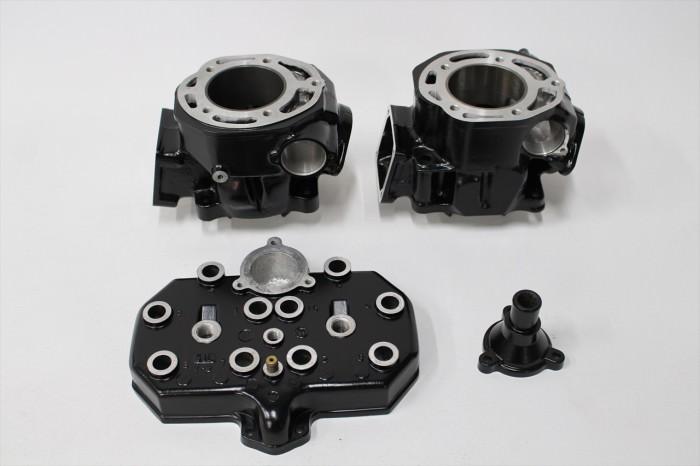 ヤマハRZ350Rエンジン塗装:エンジン専用耐熱塗装ST9000