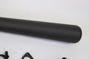 単気筒マフラー塗装 耐熱650度
