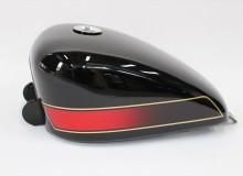 アルミタンク塗装:Z400FXカラー