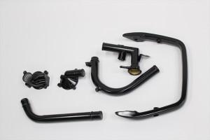 GPZ900Rエンジンカバー塗装パウダーコート