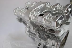 CB750Fバイクエンジン塗装耐熱塗装