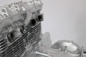 CB750Fエンジン塗装耐熱塗装