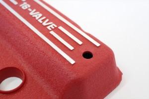 GPZ900Rヘッドカバー塗装チヂミ塗装リンクル塗装