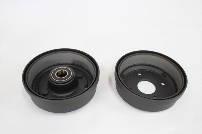 4輪部品塗装:セラコート、ST9000