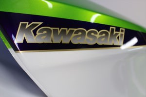GPZ600Rバイク塗装外装塗装カスタムペイント