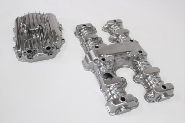 ホンダCB750Fエンジンカバー塗装:セラコートクリヤー