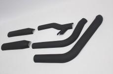 ハーレーダビッドソンヒートガード耐熱塗装:セラコート断熱塗装